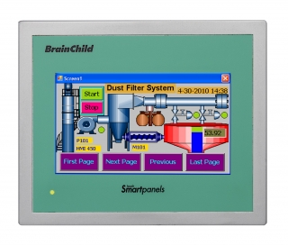 4.3-inch TFT Wide Touch HMI Screen