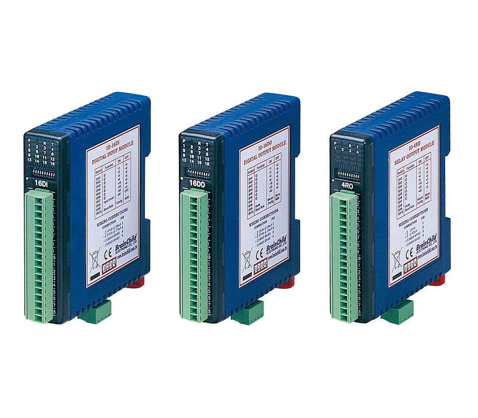 4点继电器输出IO模块_IO-4RO ( 4 relay outputs )