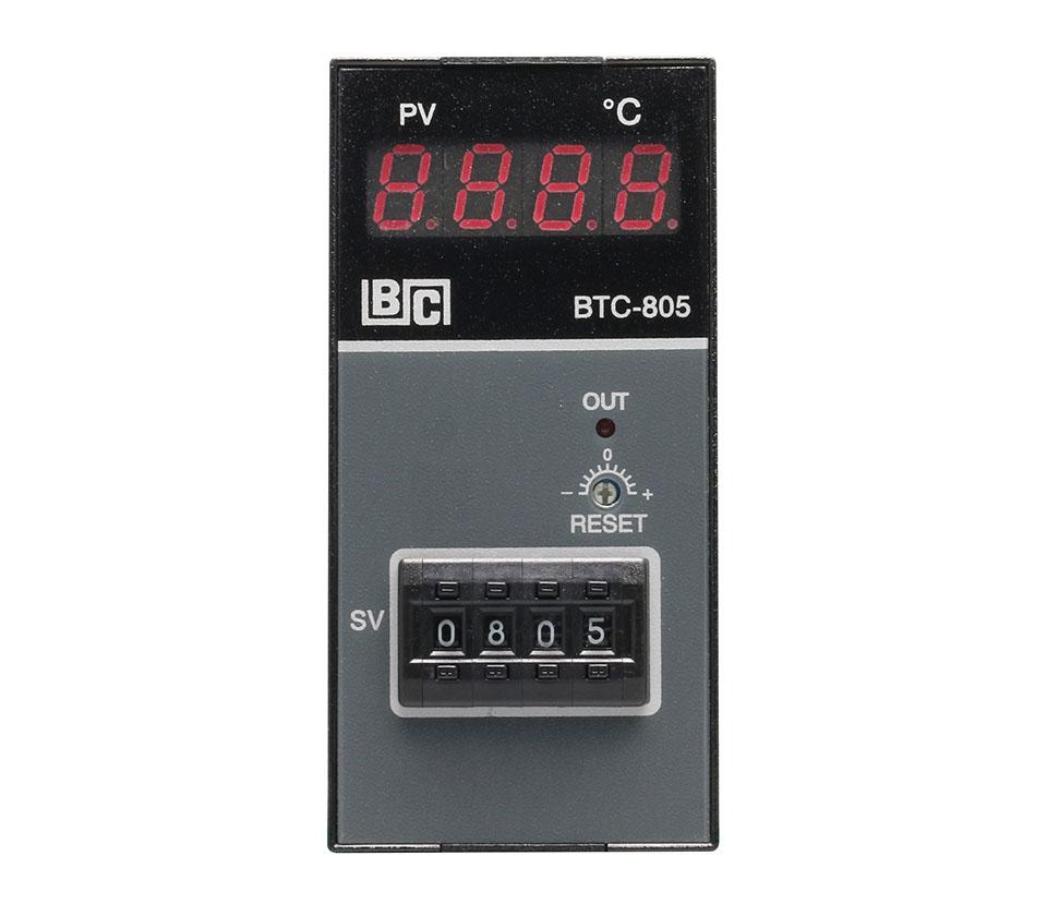 類比溫度控制器_BTC-805