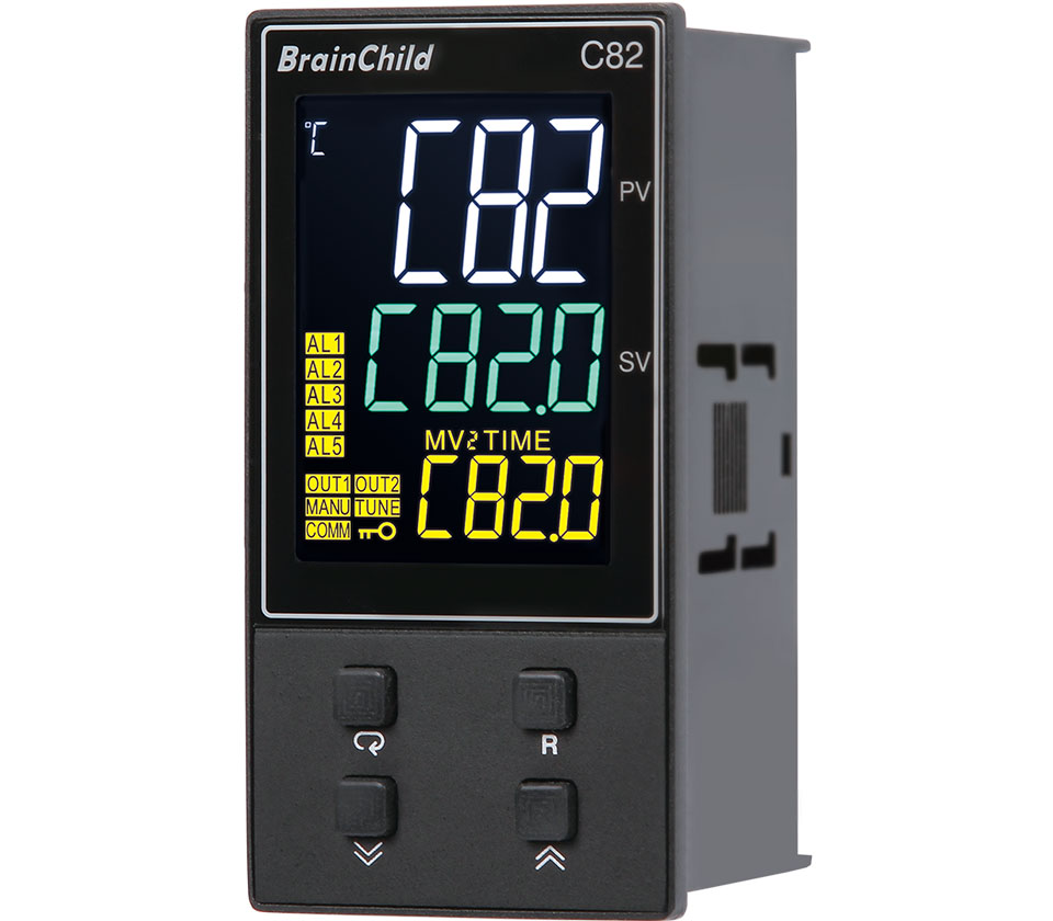 C82 Low-Cost PID Microprocessor-Based Temperature Controller