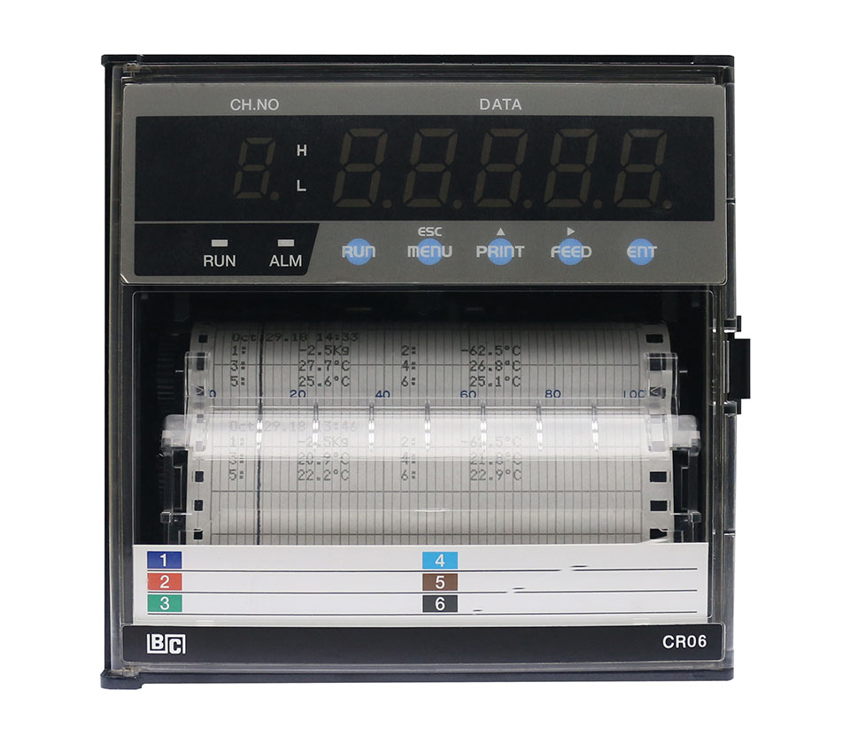 CR06 Channel Dotting Chart Recorder