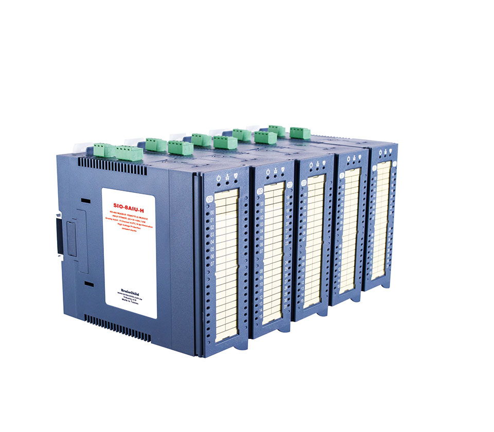Modbus RTU Digital Input/Output Modules