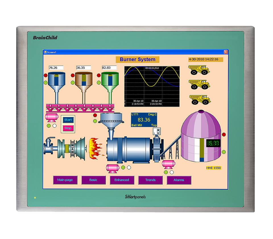 15-Inch Touch Screen HMI Interface | HMI 1550