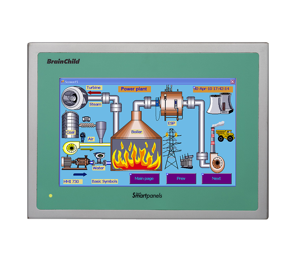 Industrial HMI Touch Panel