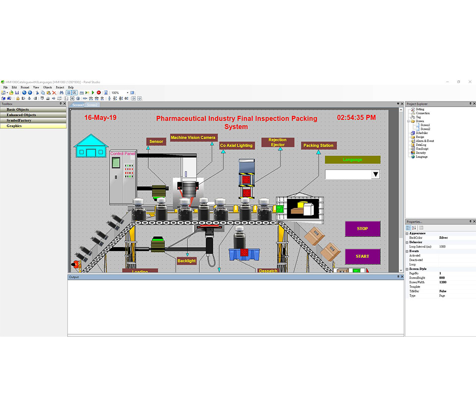 HMI Editing & Programming Software